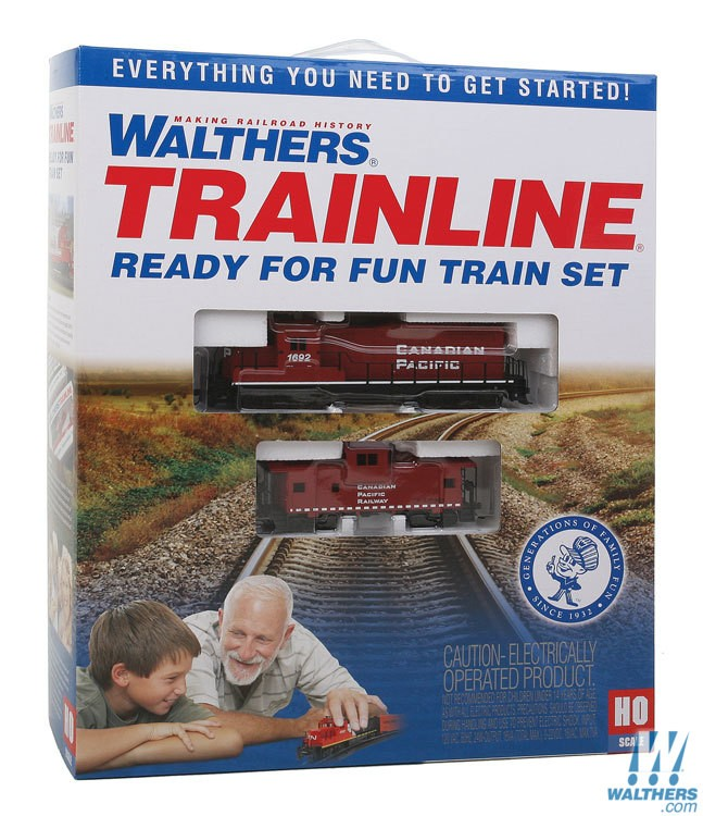 Walthers Getting Started Train Set